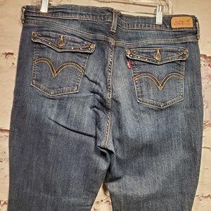Levi's 515 Women's Boot Cut Jean's Size 16s